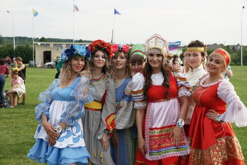 Районный конкурс красоты «Селяночка»